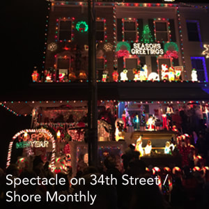 Hampden's 34th Street Christmas Lights Profile Link
